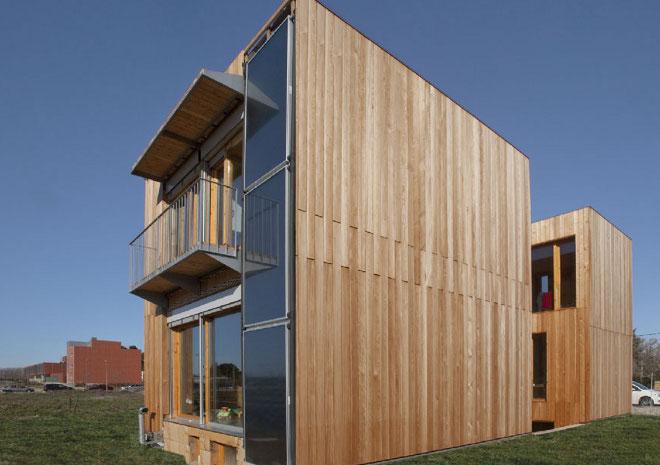 La primera vivienda pasiva de espa a for Paginas de construccion y arquitectura
