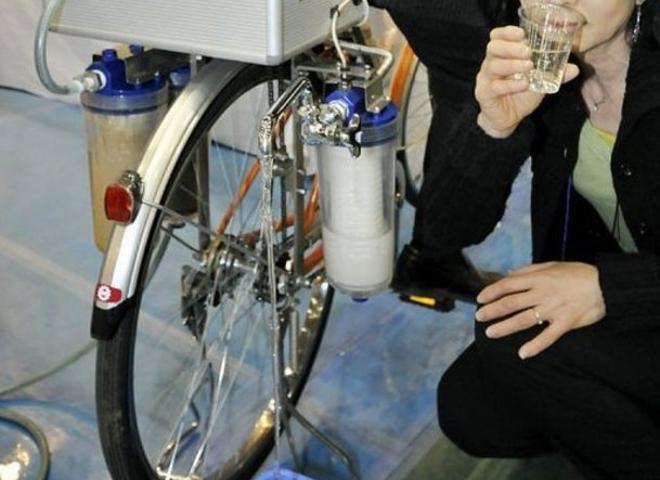 Cycloclean La Bici Que Limpia El Agua: Una Bicicleta Que Purifica El Agua