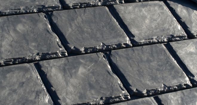 Tejados hechos de neum ticos - Caucho para tejados ...