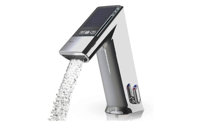 grifo con sensores para ahorrar agua