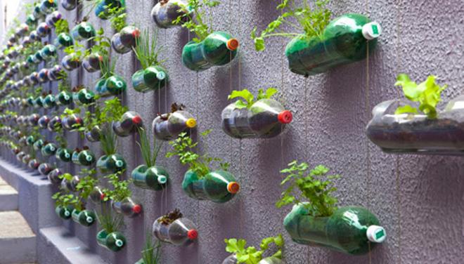crear fácilmente un jardín vertical