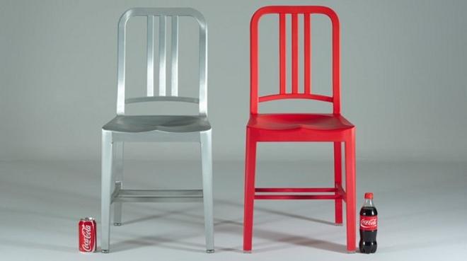 de estados unidos que fabrica sillas de diseño desde 1944 pero en