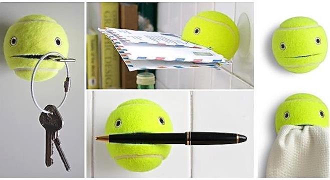 Ideas geniales para reciclar las pelotas de tenis - Ideas creativas para reciclar ...