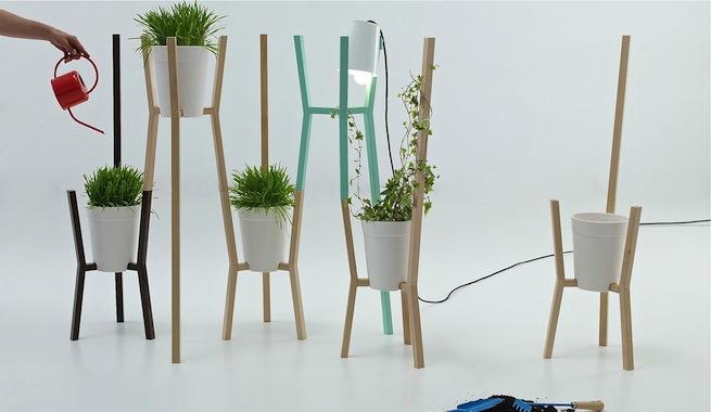 Roots, maceteros modulares inspirados en enredaderas