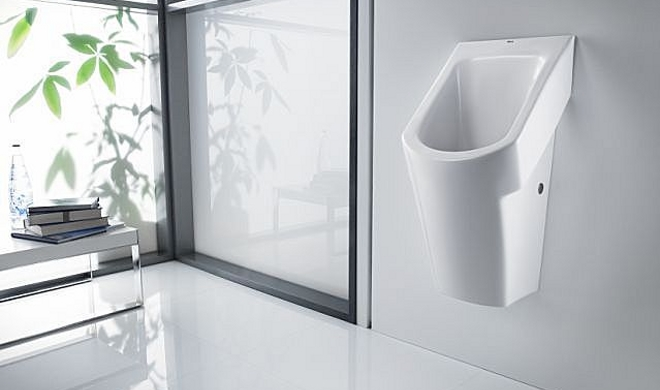Urinario que funciona sin agua for Urinario roca