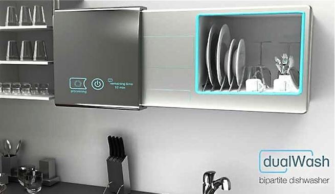 Dualwash un lavavajillas que funciona sin agua ni detergente - Como limpiar un lavavajillas ...