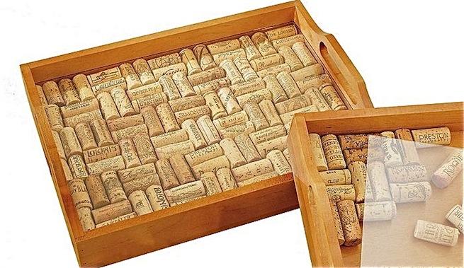 Reciclar con corchos alfombra de ba o y bandeja - Alfombra de corchos ...