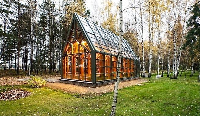 Un fant stico invernadero de verduras org nicas en rusia - Invernaderos de cristal ...