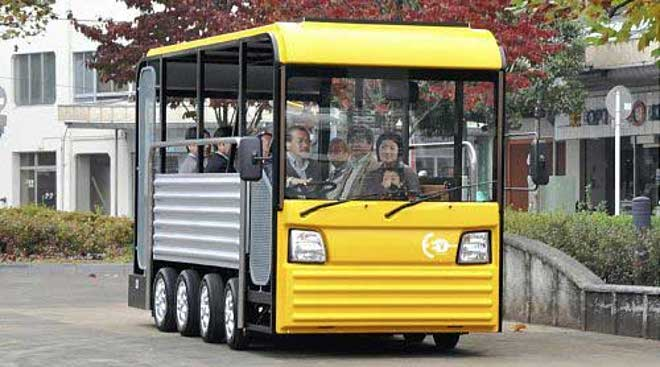 E-KomiBus, minibús solar