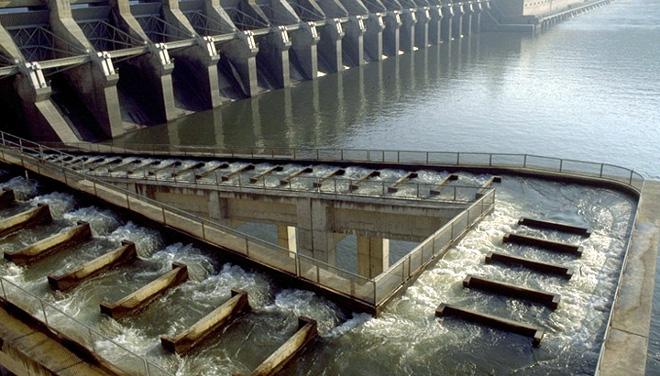 Escalera de peces para que puedan salvar presas y remontar for Construccion de tanques para peces