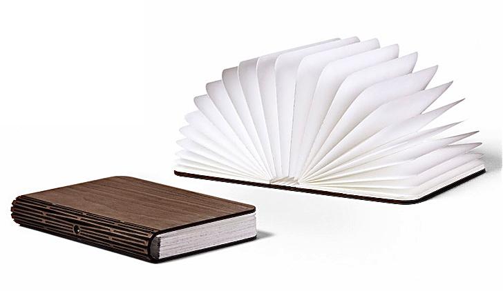 L mpara de bajo consumo plegable como un libro - Lamparas para leer libros ...