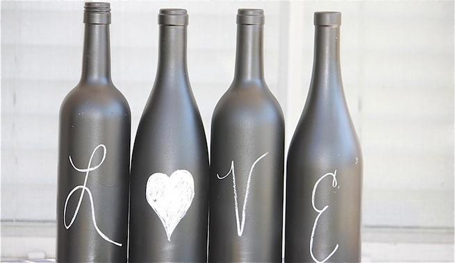 Ideas para decorar con botellas de vino - Decoracion con botellas ...