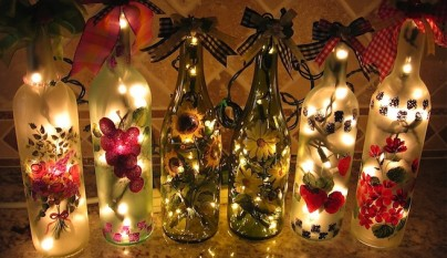 Decorar botellas