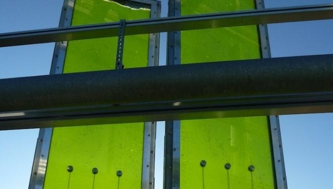 Edificio Que Genera Toda Su Energ 237 A Con Algas