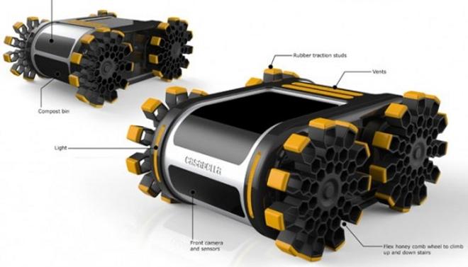 Un Robot Limpiador Que Consigue Su Energ 237 A De La Basura