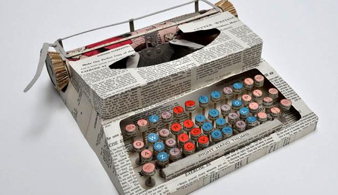 Esculturas reutilizando papel y cart n - Materiales para trabajos manuales ...