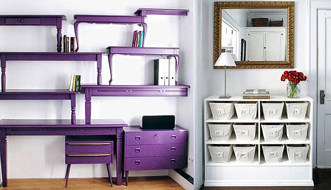 Ideas para reutilizar los muebles for Idea de muebles quedarse