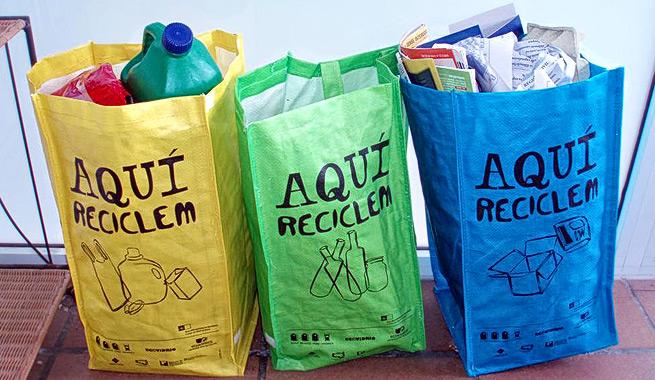 Las tres erres de la ecología: reducir, reutilizar y reciclar