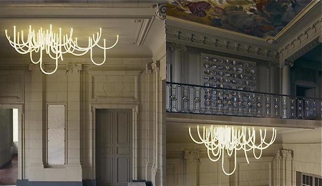 L mparas de ara a con luces led - Lamparas arana modernas ...