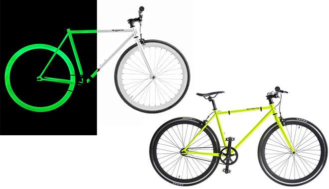 Bicicleta diseñada para hacer más segura la conducción nocturna