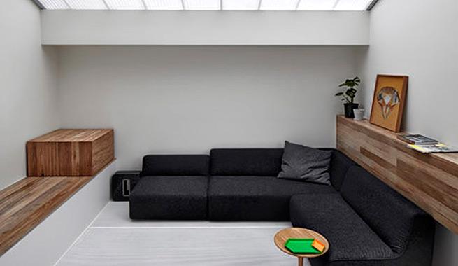 Casa con iluminacion natural por todas partes 1