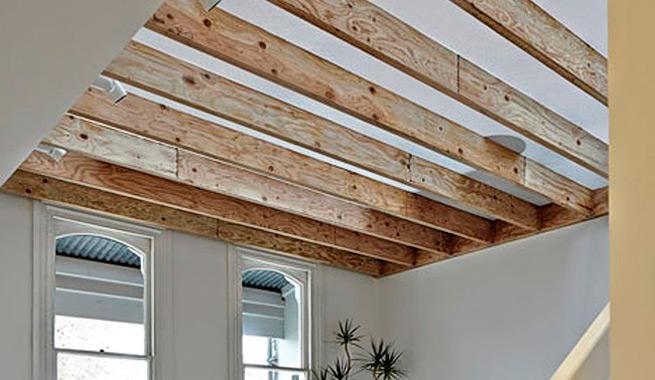 Casa con techo transl cido para una iluminaci n natural for Materiales para techos de casas