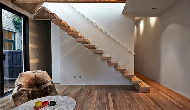 Casa con iluminacion natural por todas partes 6