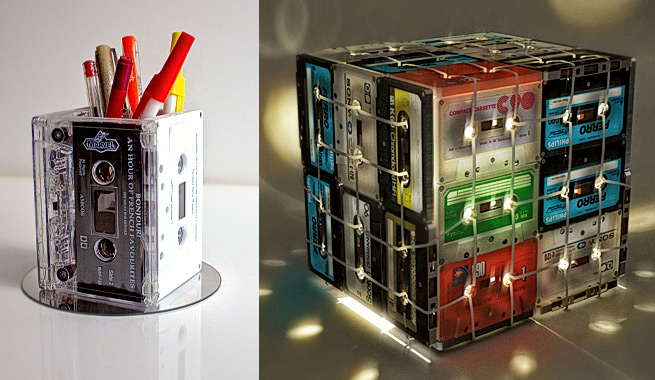 Ideas para reciclar los casetes