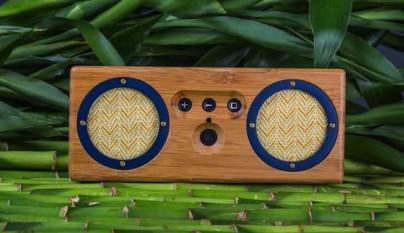 Altavoz bambu 2