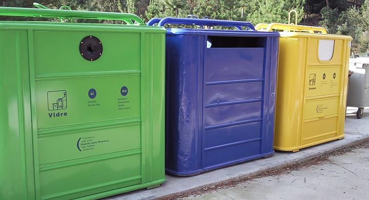 Reciclaje de residuos por colores - Colores para reciclar ...