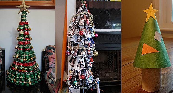 Decorar Arbol Navidad En Papel.Diy Arbol De Navidad Con Hojas De Revista O Con Tubos De