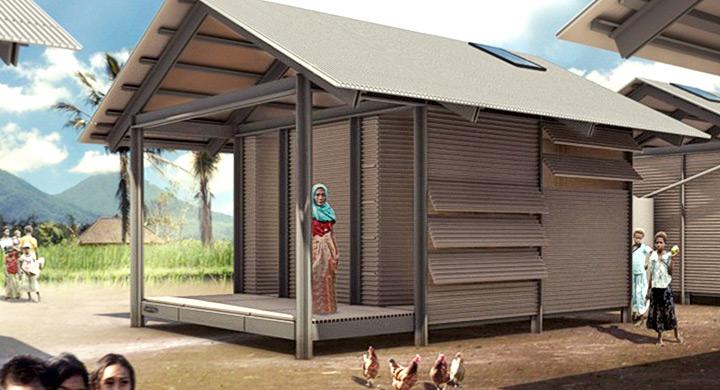Casas fabricadas con residuos de pl stico reciclado - Casas prefabricadas low cost ...