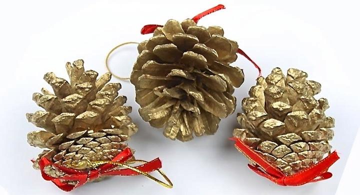 Ideas para una decoraci n navide a con pi as - Adornos de navidad con pinas ...