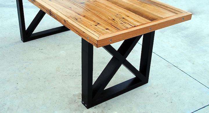 Convertir una puerta en una mesa - Patas conicas para mesas ...
