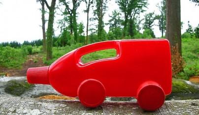 juguetes anticrisis fabricar camiones con botellas de