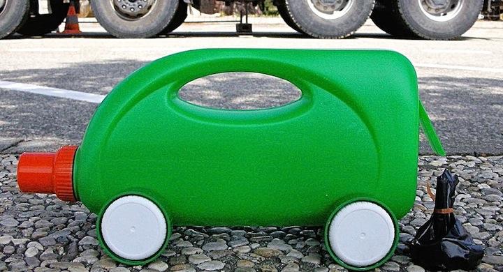 Camiones Coches Juguetes Botellas Plastico Recicladas 2