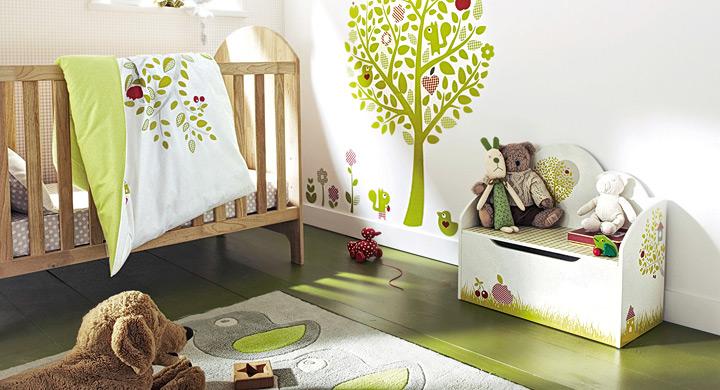 Habitacion bebe ecologica