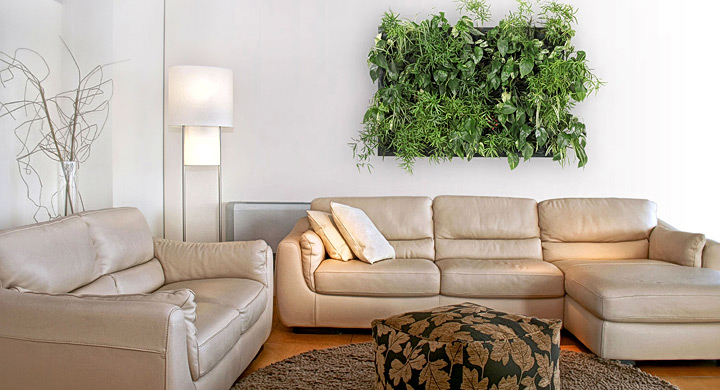 Ideas para hacer jardines verticales con plantas de interior for Plantas verticales de interior