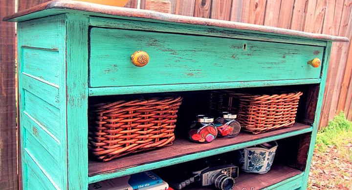 Ideas para reciclar muebles viejos for Muebles reciclados ideas