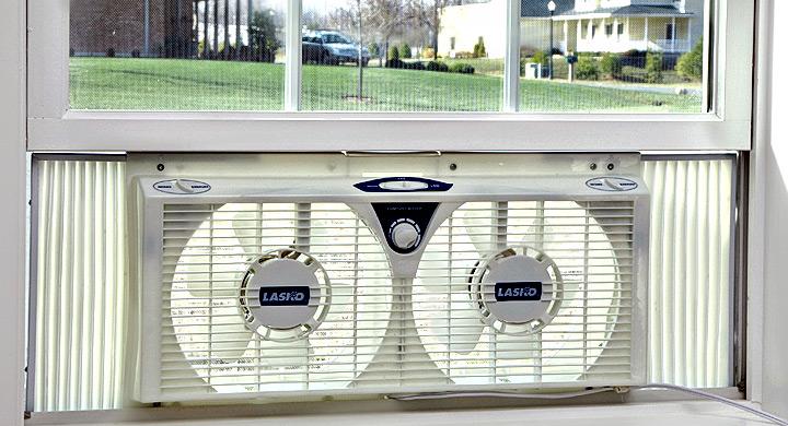 Ventilador Para Ventana Airea Condicionado
