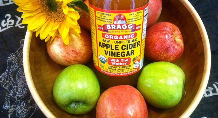 Usos cosmeticos del vinagre de manzana