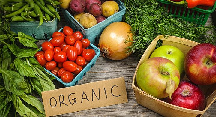 Frutas y verduras organicas