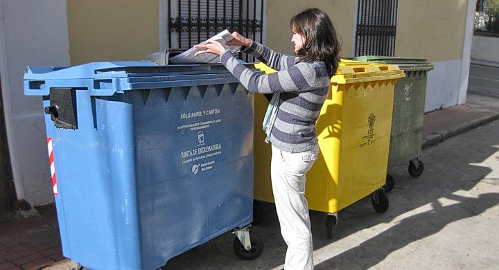 C mo separar la basura para reciclar - Contenedores de basura para reciclaje ...