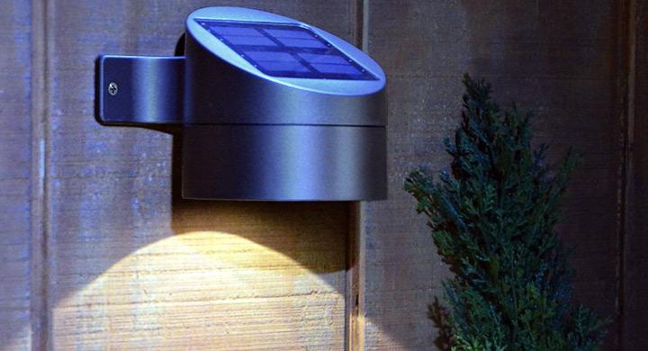 L mparas solares - Lamparas de exteriores de pared ...