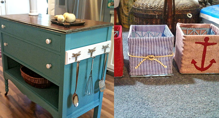 Ideas originales para reutilizar cosas viejas - Como reciclar muebles viejos ...