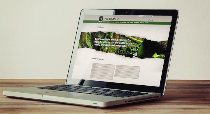 Portatil con pagina web eco