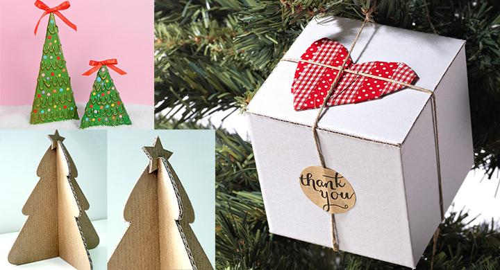Adornos navide os con cart n - Adorno arbol de navidad ...