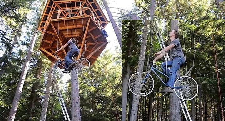 Ascensor bici
