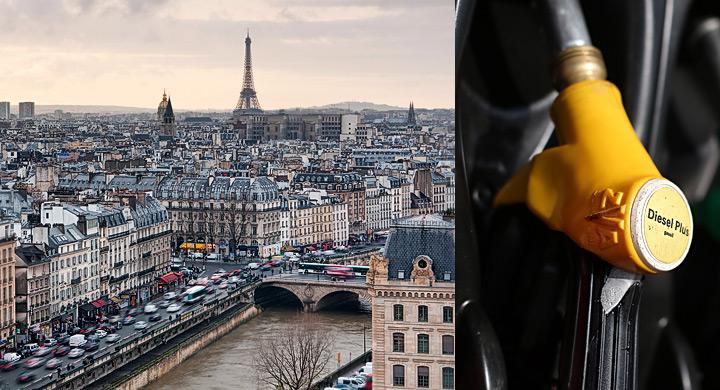 Paris prohibe el diesel