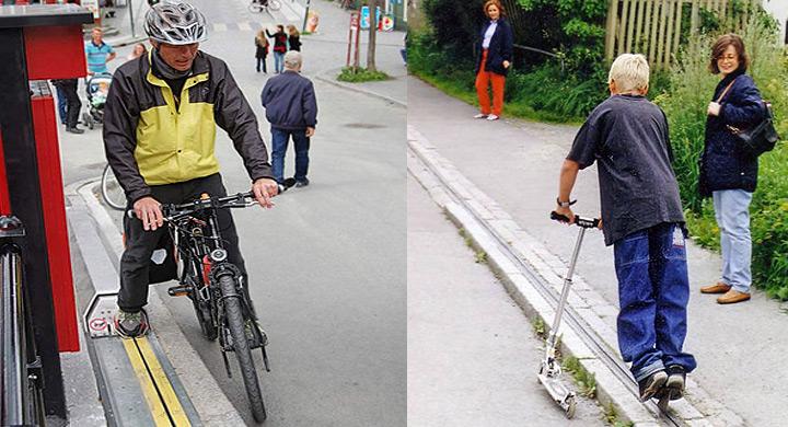 Remontador noruego para bicis
